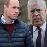 Prinz Andrew, Prinz William