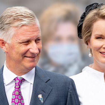 Philippe und Mathilde von Belgien