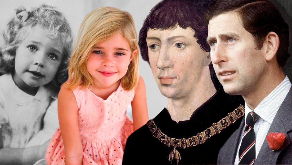 Ähnlichkeiten der Royals