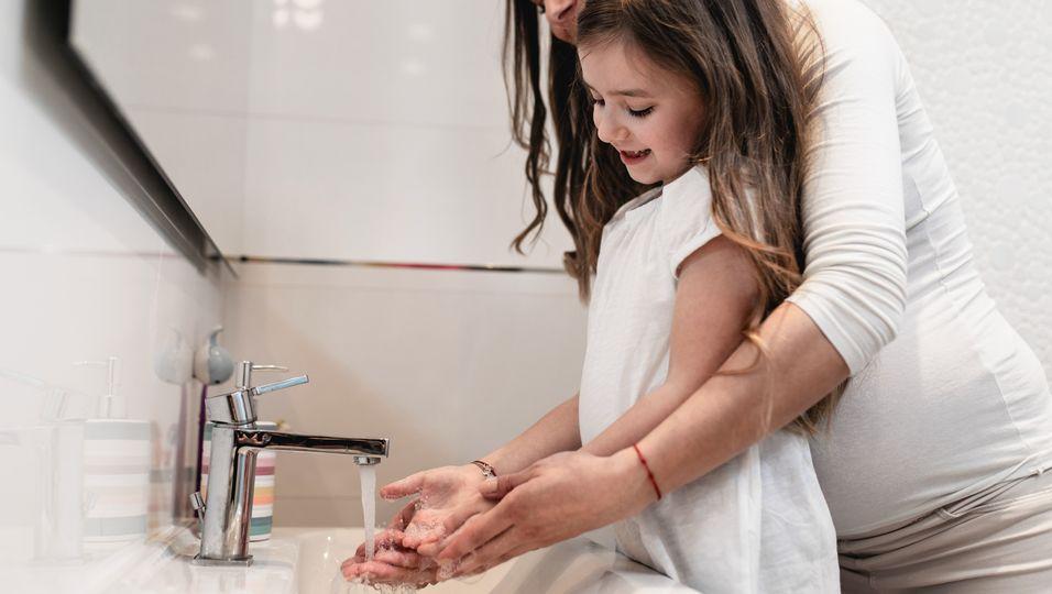 Händewaschen Kinder