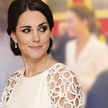 Herzogin Kate: Maßgeschneidert in Weiß! Sie glänzt als Gastgeberin dieser Party