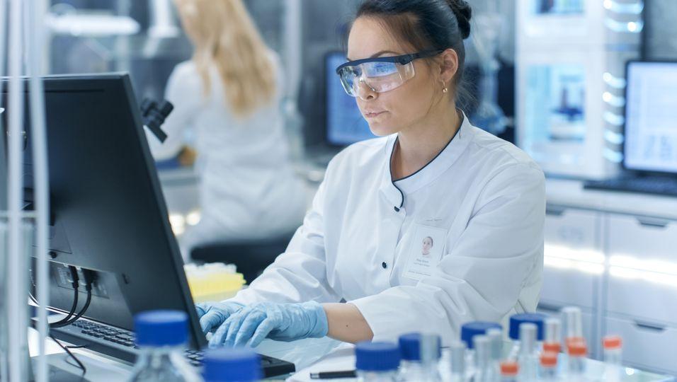 Forscherin hat ein Molekül gegen Erkältungsviren entwickelt.