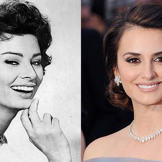 Stars wie Hollywoodlegenden, Sophia Loren, Penelope Cruz