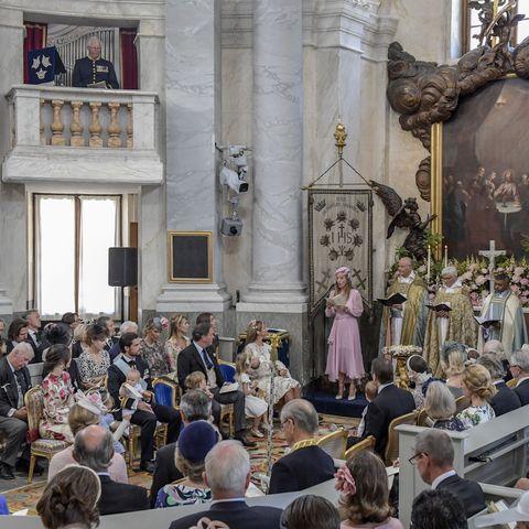 Die Taufe von Adrienne von Schweden