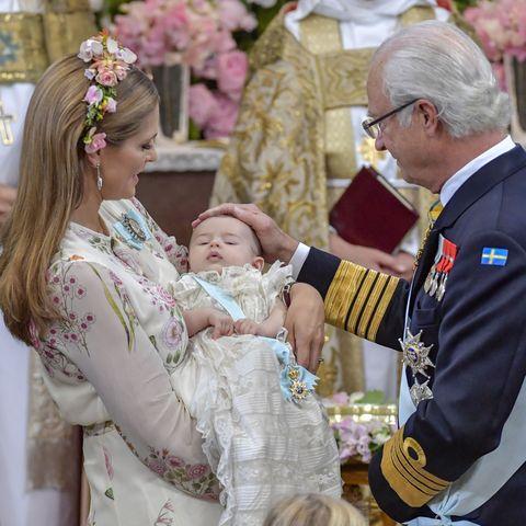 Madeleine von Schweden, Adrienne und Carl Gustaf von Schweden