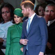 Prinz Harry, Herzogin Meghan, Barack und Michelle Obama