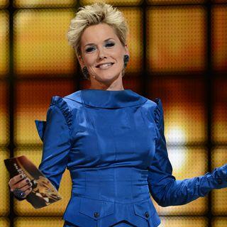 """2012 moderierte Inka Bause die 18. Verleihung der """"Goldenen Henne"""" im Berliner Friedrichstadtpalast."""