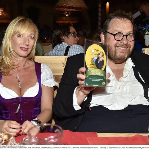 Ottfried Fischer und Freundin Simone