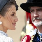 Letitia und Felipe von Spanien