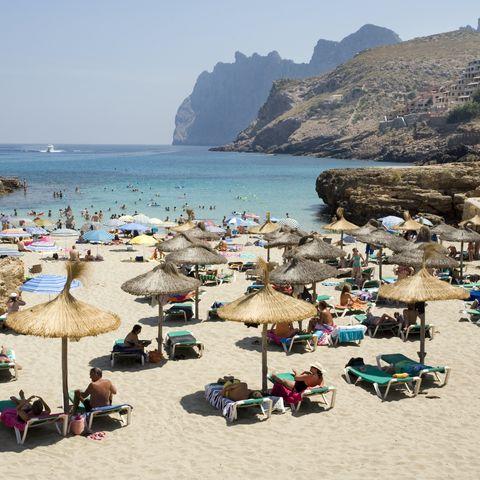 Strand in Mallorca