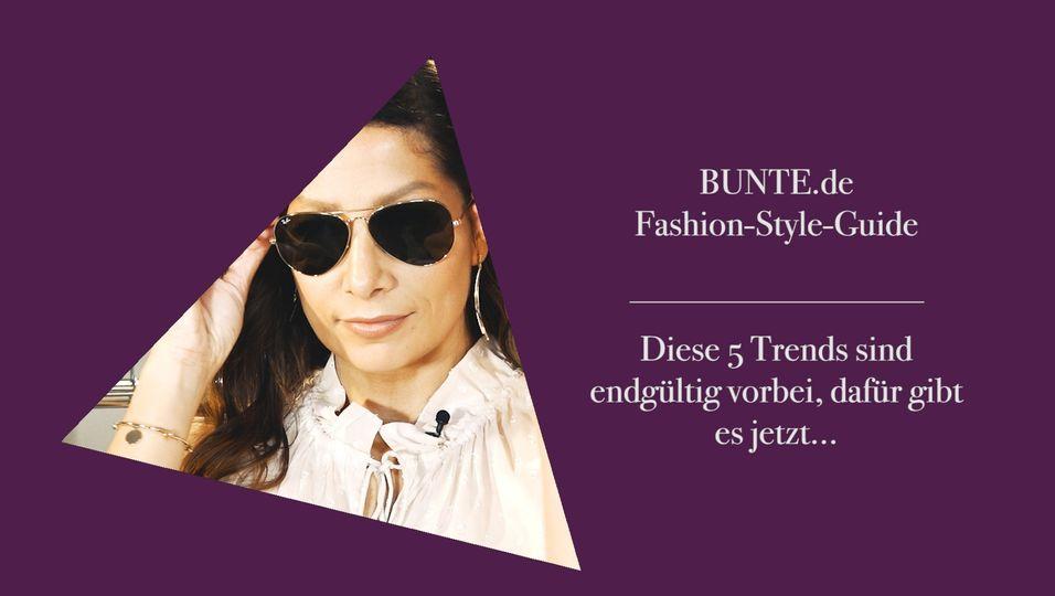 Fashion-Expertin verrät: Diese Mode-Trends tragen wir jetzt nicht mehr!