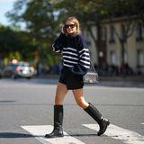 So französisch: Dieser Pullover-Trend bringt uns stylisch in den Herbst