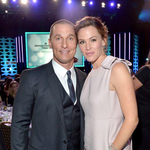 Garner mit ihrem Kollegen Matthew McConaughey. Noch-Ehemann Ben Affleck war nicht vor Ort ...
