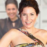 Vanessa Blumhagen: Durchsichtige Bluse & Lederhose – ihr Spitzen-BH ist der absolute Blickfang