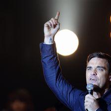 Robbie Williams in Berlin