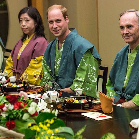 Prinz William in Japan