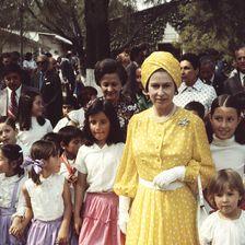 Queen Elizabeth II 1975