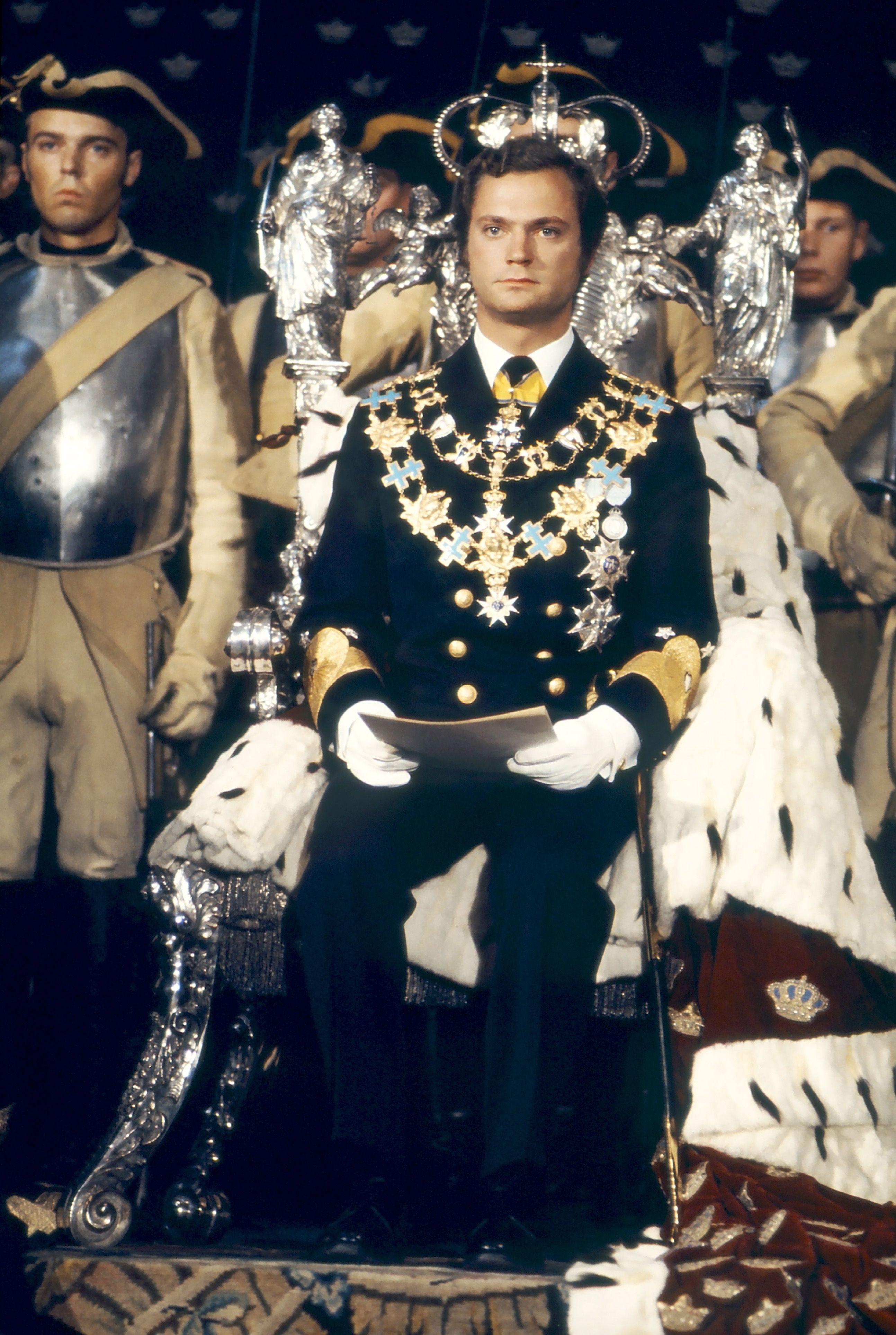 Der junge König Carl Gustaf: 19. September 1973