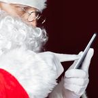 Ein Weihnachtsmann-Kettenbrief sorgt bei WhatsApp für Wirbel.