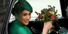 Herzogin Meghan ist ab Mai im Mutterschutz.