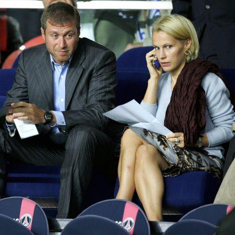 Roman Abramovich and Irina Malandina