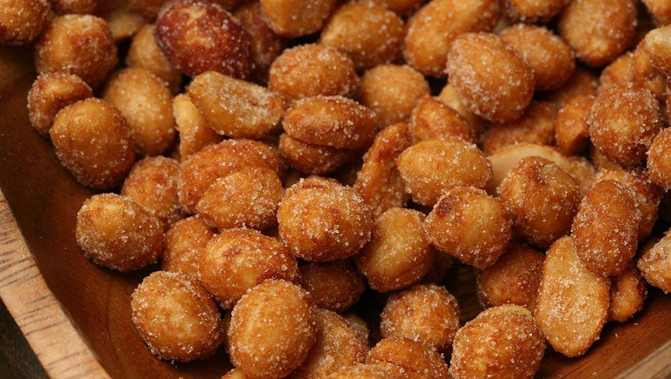 Geröstete Nüsse   Leckeren Snack selber machen