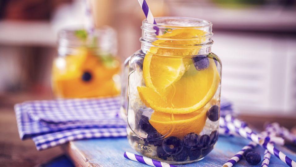 Trinken und Kalorien sparen