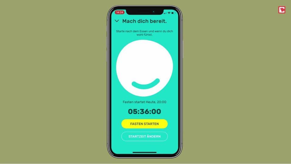 Intervallfasten: Diese App hilft dir dabei