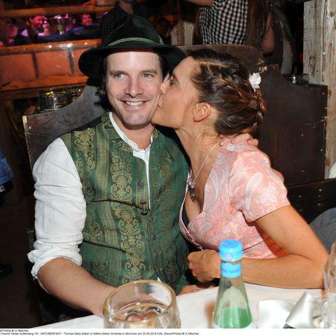 Doreen Dietel und Freund Tobias Guttenberg