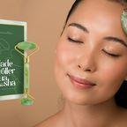 Wellness für Zuhause mit unserem Premium Jade Roller, Vitamin C Serum und Gua Sha