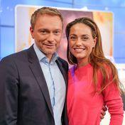 Christian Lindner und Franca Lehfeldt