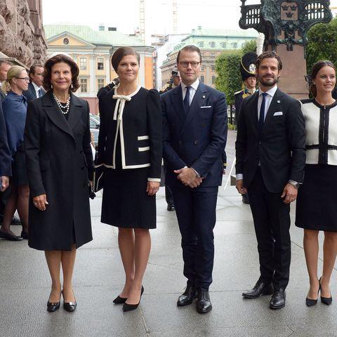 Madeleine & Sofia von Schweden trafen bei der feierlichen Eröffnung des Parlaments aufeinander …