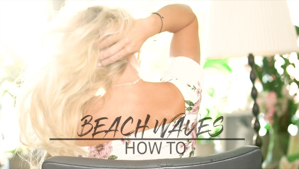 Super stylische Beach Waves - so geht's