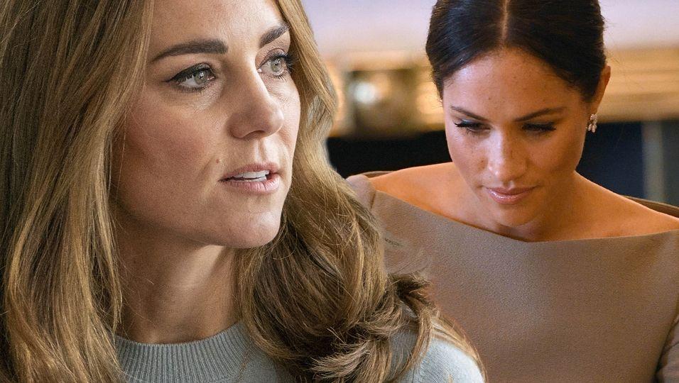 War das eine Botschaft von Kate an Meghan zur Fehlgeburt?