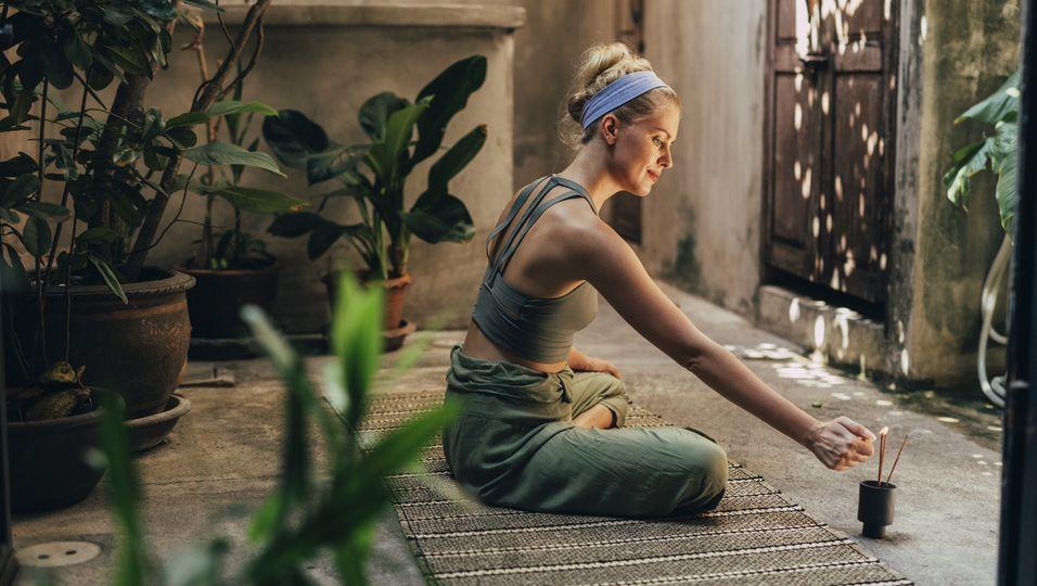Meditation, Entspannung