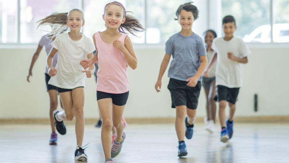 Ausdauer Kinder Sport