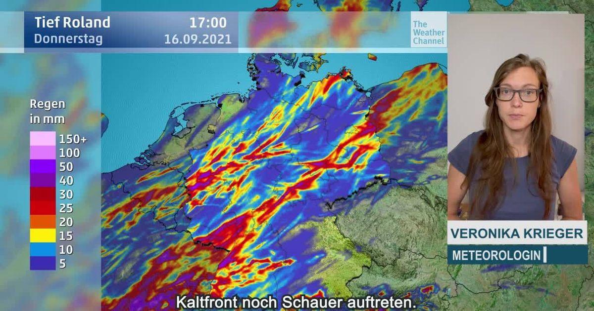 Bis zu 50 Liter : Tief Roland bringt den Starkregen zurück nach Deutschland