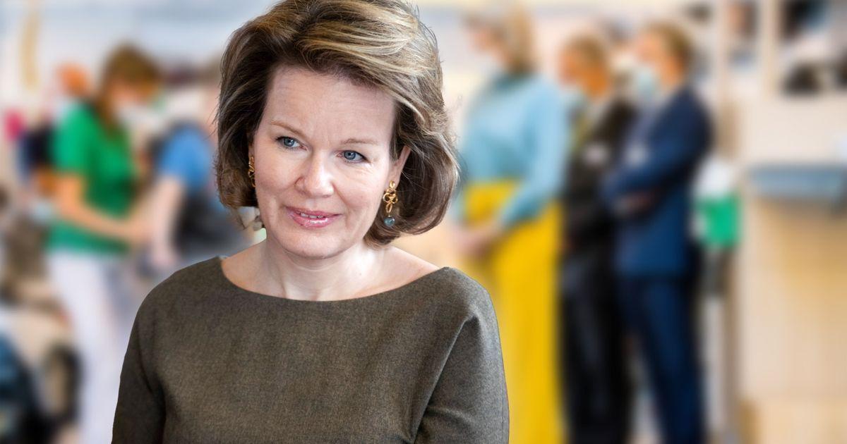 Mathilde von Belgien: Extravagant! Diese Hose hätten wir von ihr nicht erwartet