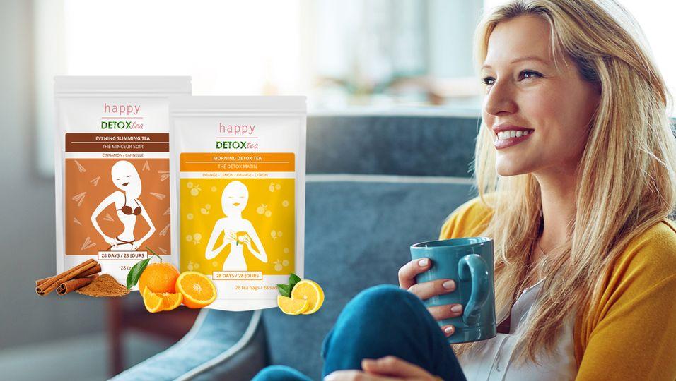 Happy Detox Tea Main