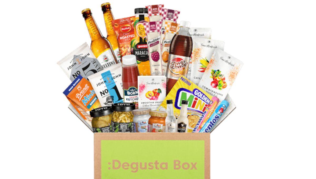 Degustabox Textbild