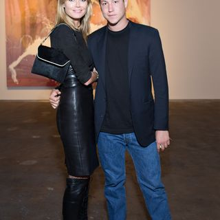 Bei einer Ausstellung seines Vaters zeigten sich Vito Schnabel und Heidi Klum endlich wieder gemeinsam.