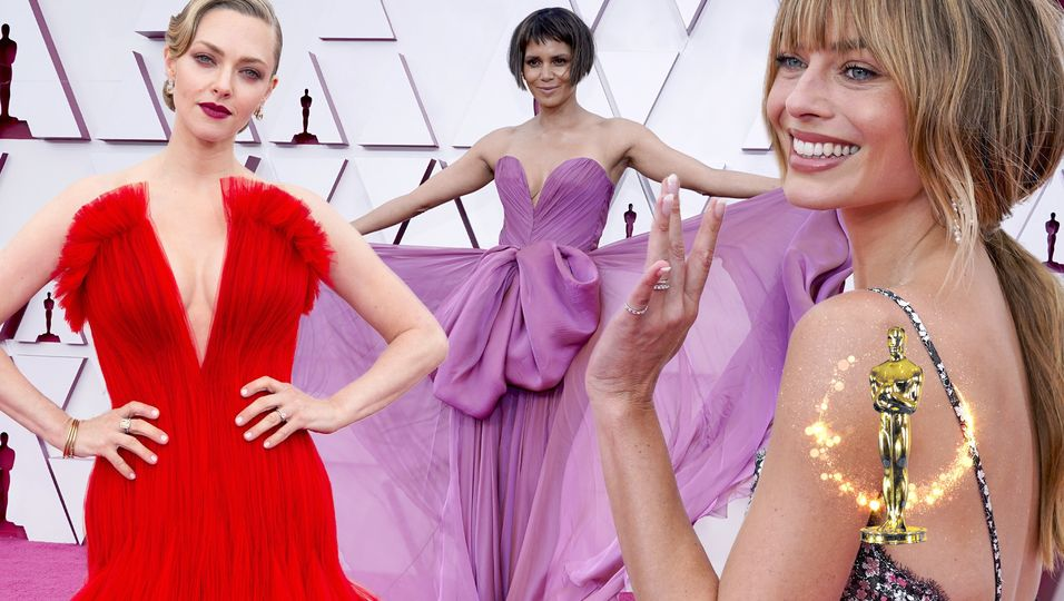 Amanda Seyfried, Halle Berry & Co: Sie trugen die schönsten Roben des Abends