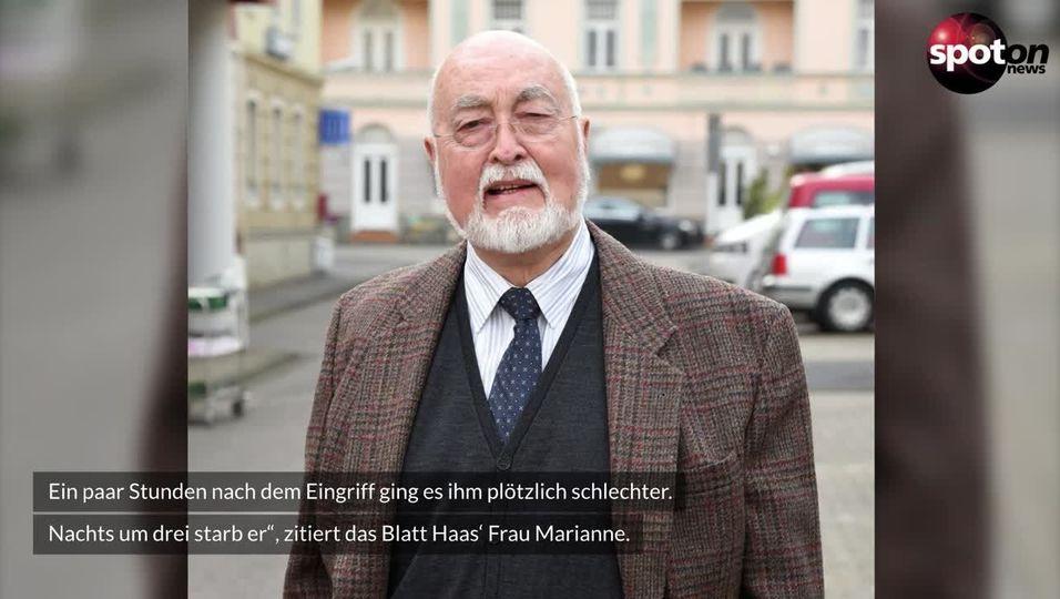 """Ludwig Haas: """"Lindenstraße""""-Star stirbt mit 88 Jahren"""