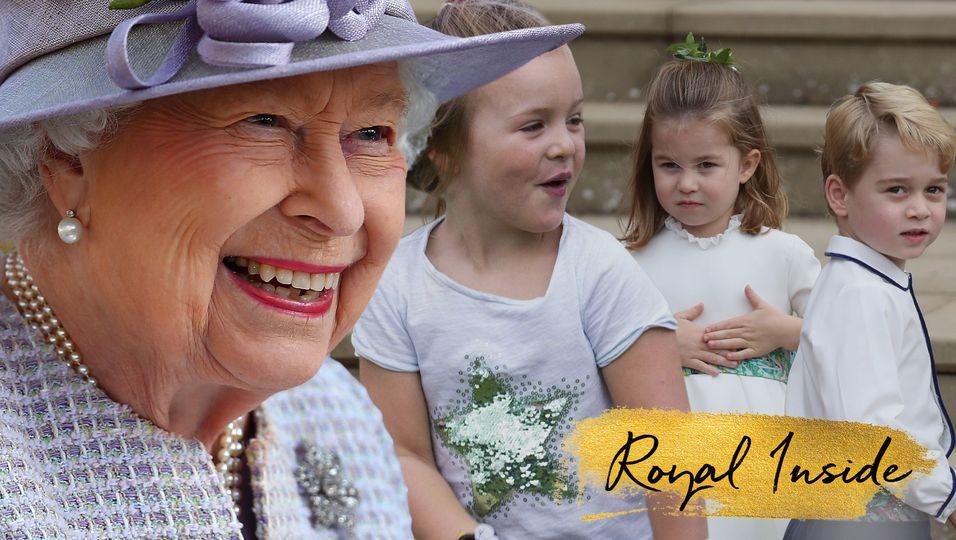 Queen Elizabeth II.: Neun Ur-Enkel – und sie könnten nicht unterschiedlicher sein