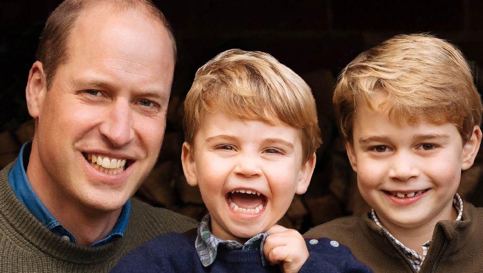 Dieser Vergleich lässt uns staunen: Die zwei Mini-Prinzen sind unterschiedlicher als man glaubt