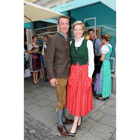 Prinzessin Isabelle zu Hohenlohe-Jagstberg mit Marc Adam