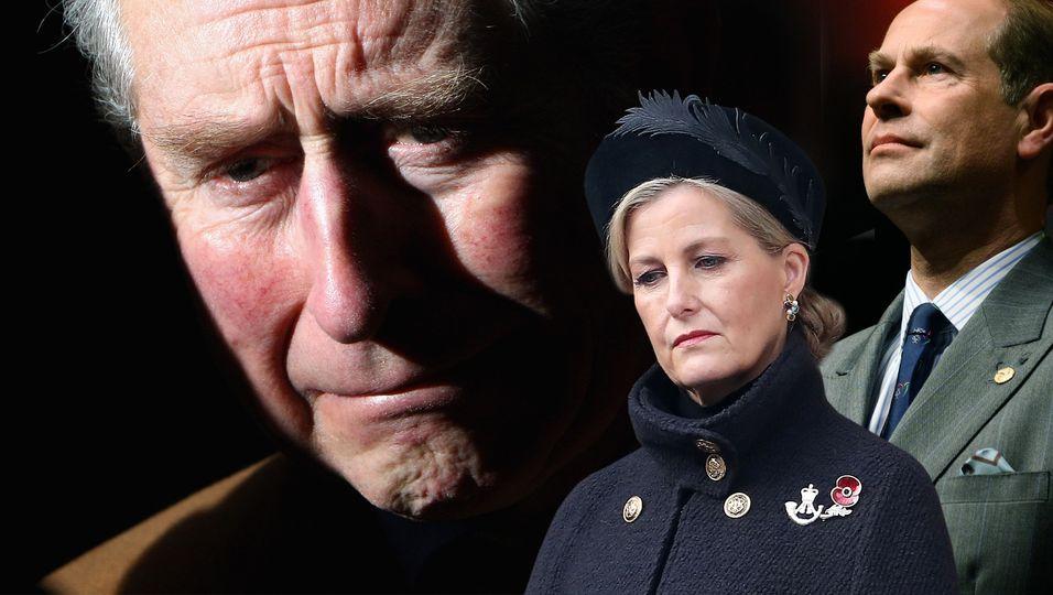 Wenige Stunden nach der Todesmeldung: Hier verlässt Prinz Charles Schloss Windsor