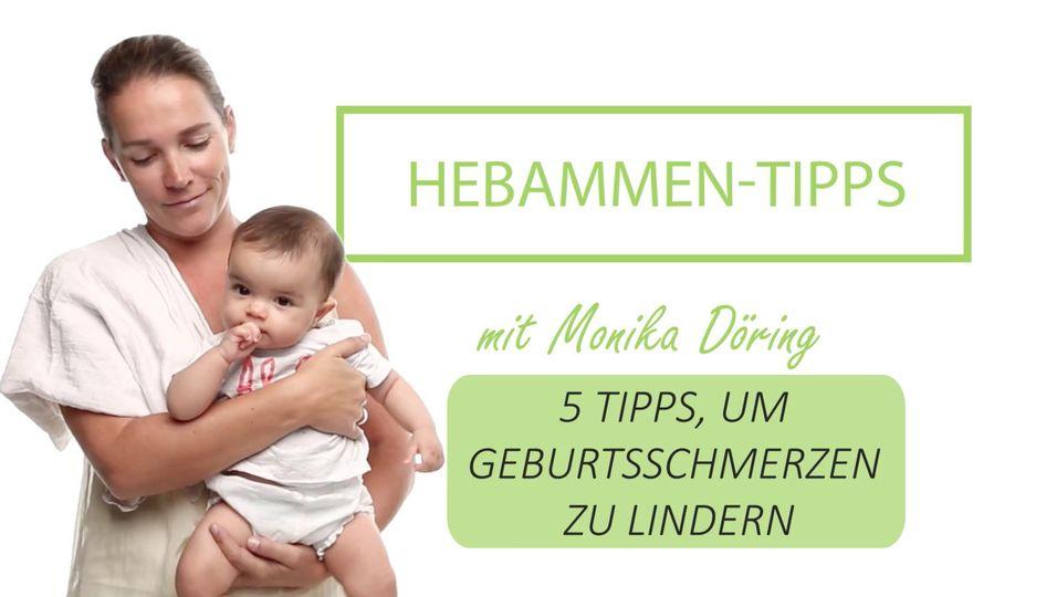 5 Hebammen-Tipps, um Geburtsschmerzen zu lindern