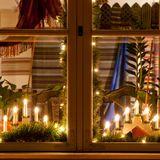 Weihnachtsdeko    Tolle Ideen für Ihre Fenster
