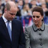 """Prinz William & Herzogin Kate - Experte: """"Sie sind in Gefahr"""""""